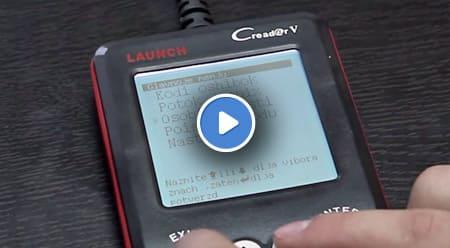 Видеообзор автосканера Launch CReader V