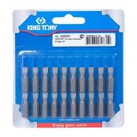 "KING TONY Вставка (бита) торцевая 1/4"", Slotted, 5х0.8 мм, L = 25 мм"