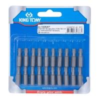 """KING TONY Вставка (бита) торцевая 1/4"""", TORX, T25, L = 25 мм"""