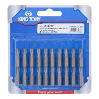 """KING TONY Вставка (бита) торцевая 1/4"""", TORX, T27, L = 25 мм"""