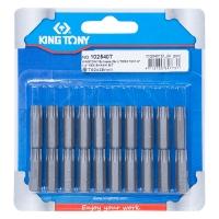 """KING TONY Вставка (бита) торцевая 1/4"""", TORX, T40, L = 25 мм"""