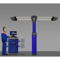 V7204TP  - Стенд сход-развал Техно Вектор 3D Premium-серии