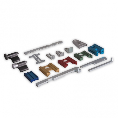 CT-1442B - Универсальный набор фиксаторов