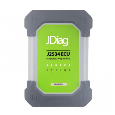 JDIAG J2534 ECU FUll - мультимарочный автосканер с комплектом адаптеров