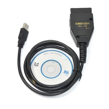 CMD CAN Flasher V1251 – адаптер для работы с памятью блоков управления