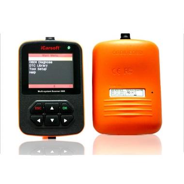 iCarsoft Scanner i908 –диагностический сканер для Audi, VW, Seat и Skoda