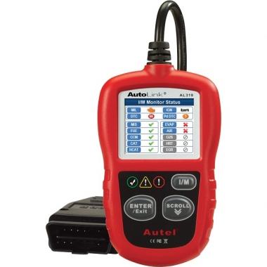 Autel Autolink AL319 - мультимарочный сканер