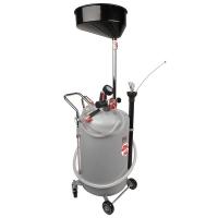 1832.80 APAC - установка для слива и откачки масла/антифриза с круглой подъемной ванной, мобильная