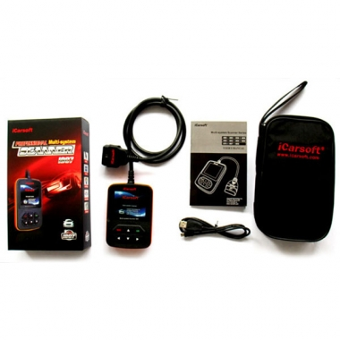 iCarsoft  i907 для Renault - профессиональный мультисистемный сканер