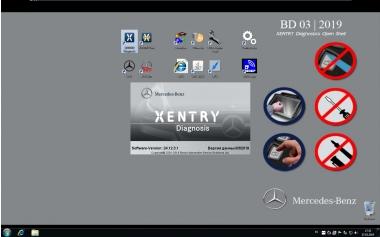 Установка программного обеспечения для адаптеров Mercedes SD Connect