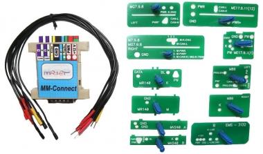 Переходник MM-Connect с шаблонами для подключения устройств компании Мотор-Мастер