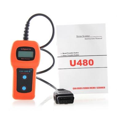 Диагностический автосканер U480 OBD-II CAN