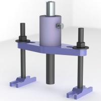 Автомотив АВСГ16 - адаптер для выпрессовки ступицы