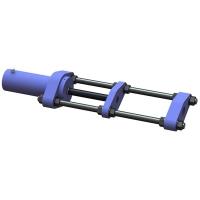 Автомотив ВПТ-50 - выпрессовщик пальцев траковых цепей