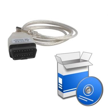 Установка программного обеспечения для Кабеля BMW INPA K+DCAN USB