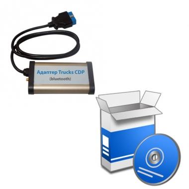 Установка программного обеспечения для адаптера CDP Trucks