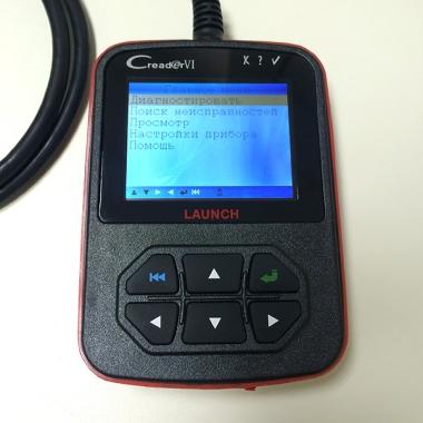 Launch CReader VI (CReader 6) — мультимарочный портативный автосканер на русском языке
