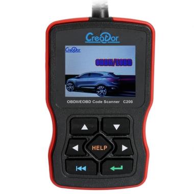 Creator C200 OBDII / EOBD -  Мультимарочный автомобильный сканер