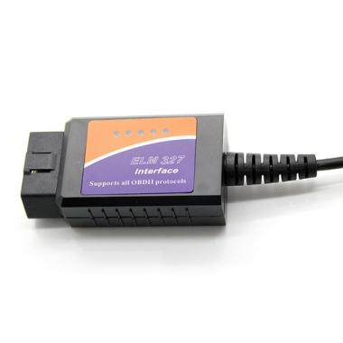Автосканер ELM 327 USB для PC, MacOS, WinCE, Linux (Русская версия)
