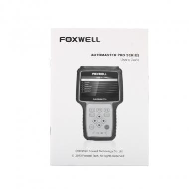 Foxwell AutoMaster Pro NT64X - универсальный автомобильный сканер