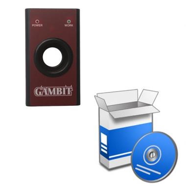 Установка программного обеспечения для программатора Gambit CAR KEY MASTER II