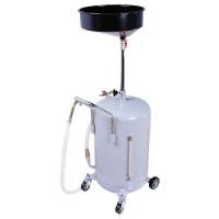 1803.80 APAC - Установка для слива масла/антифриза с круглой подъемной ванной, мобильная