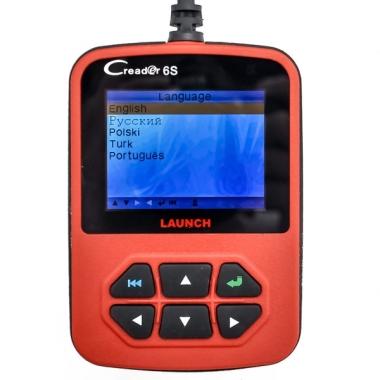 Launch CReader VI S (CReader 6S) — новый мультимарочный автосканер на русском языке