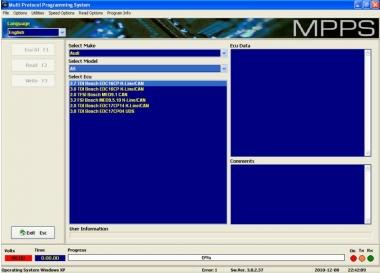 Адаптер MPPS OBDII ECU flasher