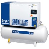 New Silver D 10/300 - винтовой компрессор с осушителем