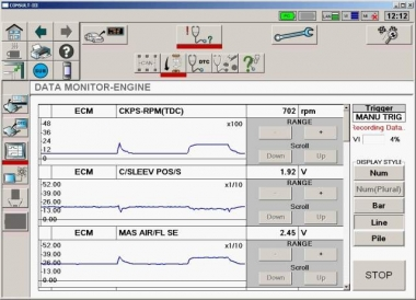Nissan Consult 3 - дилерский диагностический сканер