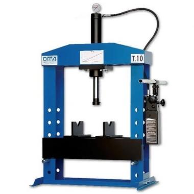 OMA 650 - настольный гидравлический пресс с усилием до 10 тонн