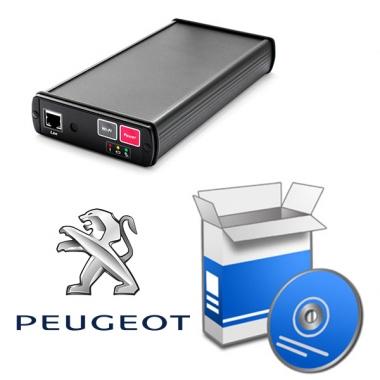 Программный модуль PEUGEOT для ScanDoc