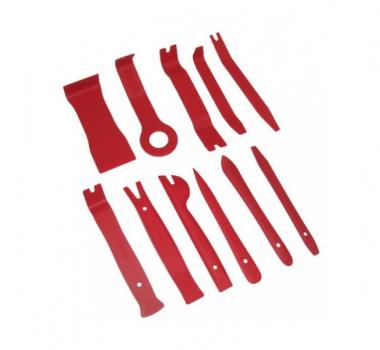 Комплект инструментов для разборки салона автомобиля - 11 предметов