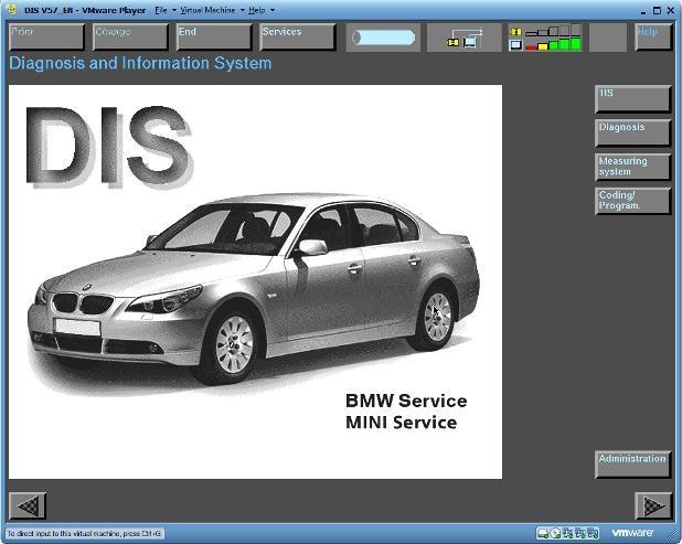 Программа для диагностики BMW DIS